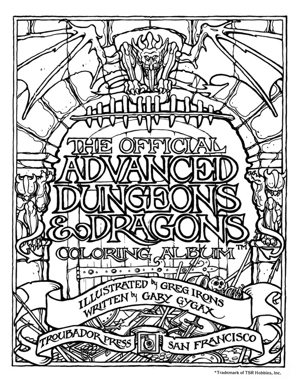 dungeons and dragons brooklyn wargaming page 2 Soviet Arcade Games as a kid in the 1970s i had heaps of activity books of all sorts brain teasers mazes puzzles coloring paper doll and cut out model books