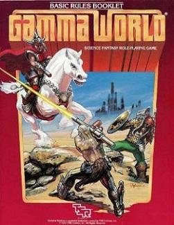 Retro Gaming The 70s & 80s: Gamma World | Brooklyn Wargaming