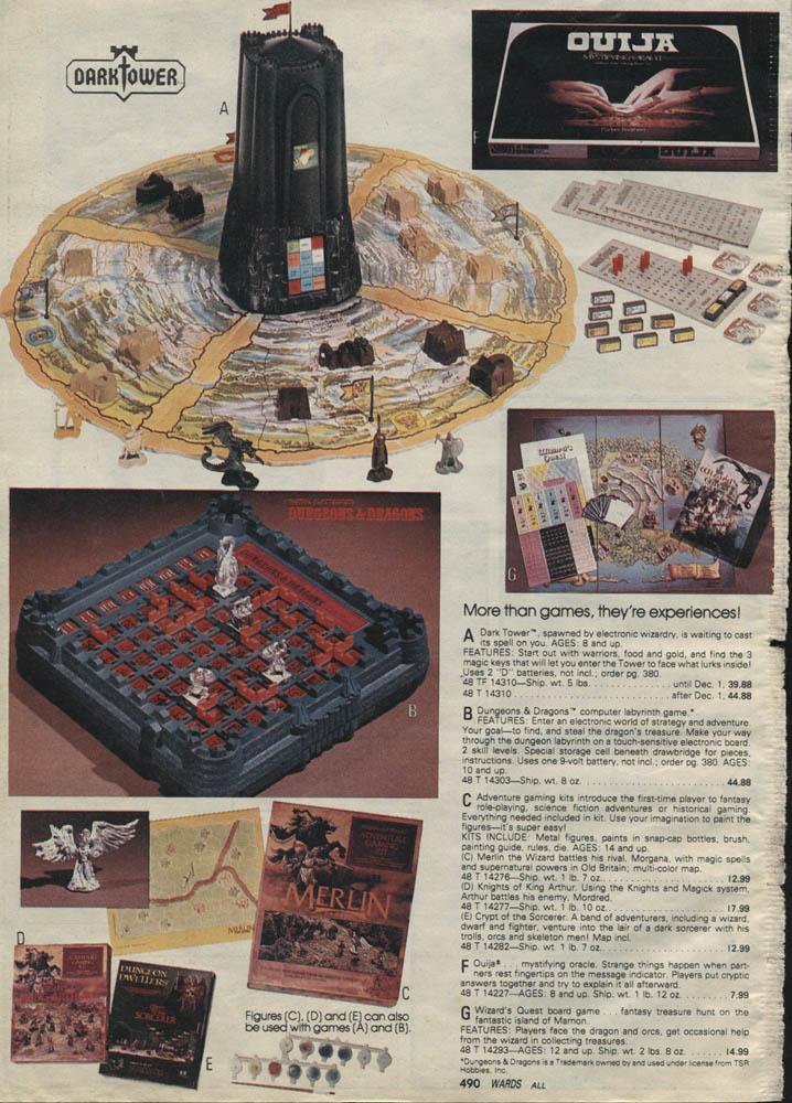 Retro Gaming The 70s Amp 80s Dark Tower Brooklyn Wargaming