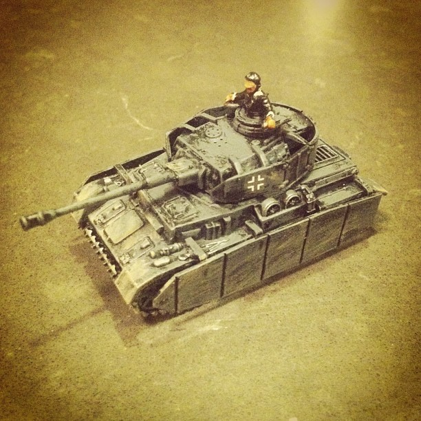 Flames of War: Fielding the PSC Panzer IV Tank | Brooklyn