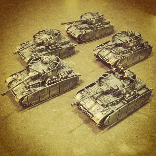 Flames of War: Fielding the PSC Panzer IV Tank | Brooklyn