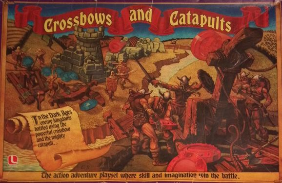 1x Crossbows And Catapults Replacement Brown Viking Warrior Figure Lakeside 1983