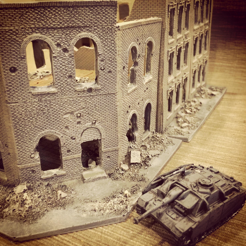 Flames Of War Novus Design Studio 15mm City Block Ruins