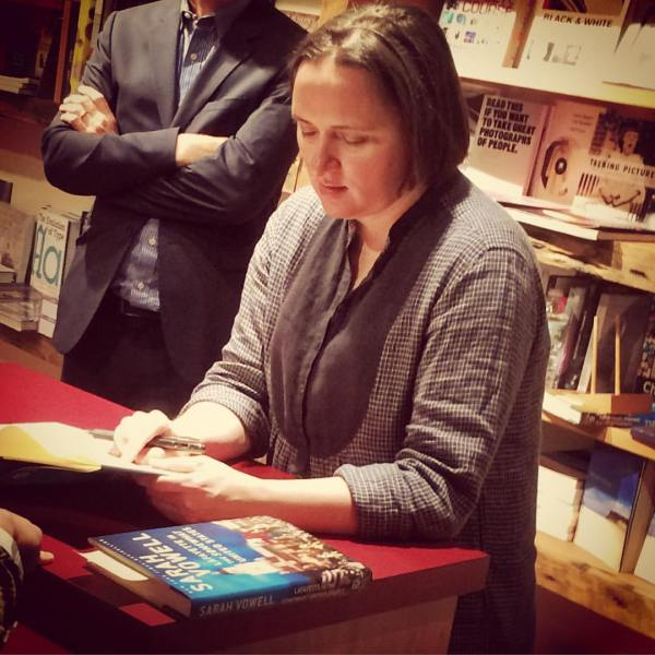 sarah vowell essays the partly cloudy patriot Ms vowell reads excerpts from her collection of essays, [the partly cloudy patriot], published by simon and schuster in the book, ms.