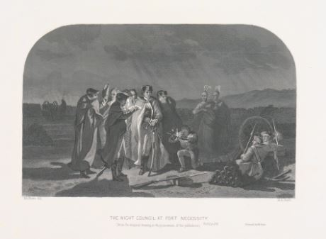Night Council at Fort Necessity
