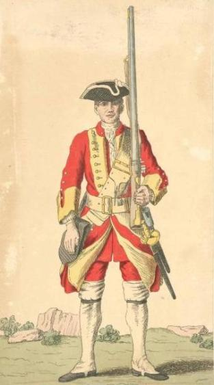 Soldier_of_29th_regiment_1742
