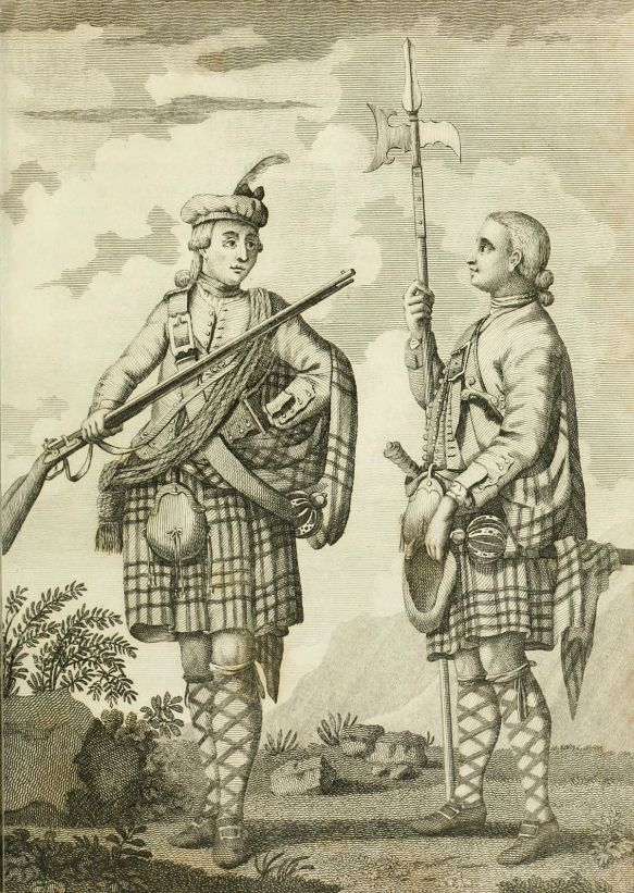 French and Indian War: Scottish Highlanders from North Star